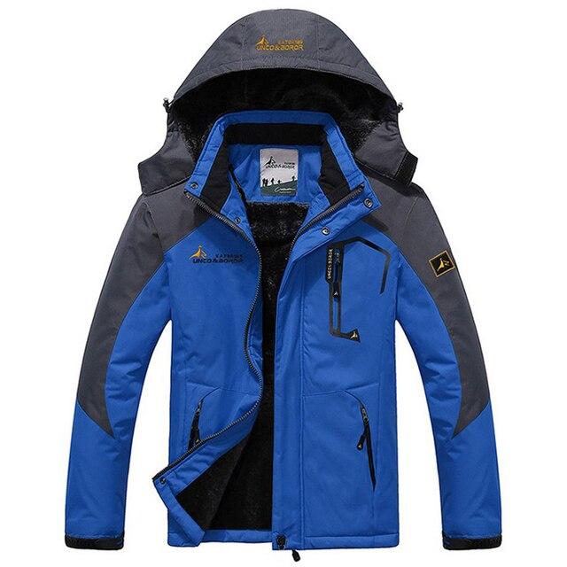 Новая зимняя куртка Для мужчин толстый бархат теплое пальто Термальность теплый ветрозащитный капюшон Куртки Для мужчин S верхняя одежда; парка Homme jaqueta повседневные пальто
