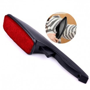 Clothes Dusting Static Brush Dry Wash Sticky Hair Remover Dust Clean Rotatable