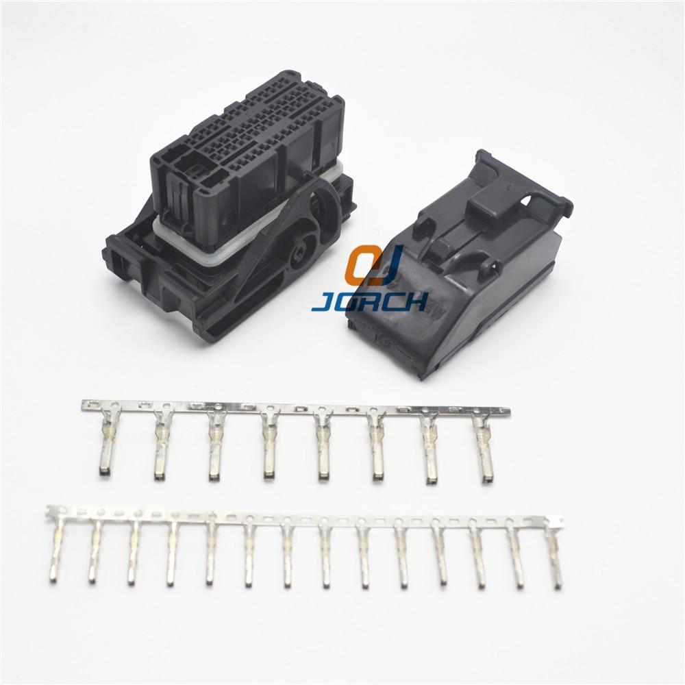 ECU female 64 pin way Molex automotive connector central contral system wire  harness Connectors sets kits