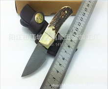 Hot Selling 59HRC steel wild jungle tactical  knife  small Survival Camping Hunting straight Knives Collection Gift