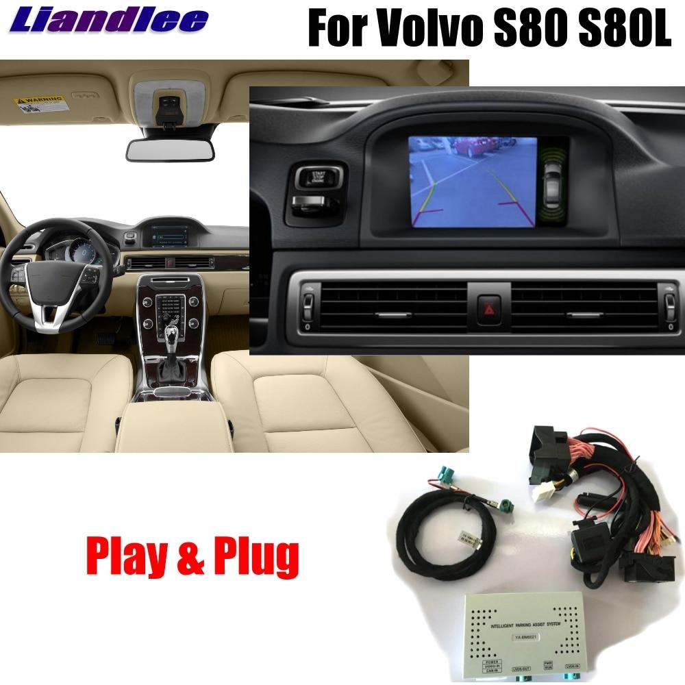 Liandlee Parking caméra Interface inverse sauvegarde Kits de caméra pour Volvo S80 S80L 2015 2016 affichage mise à niveau
