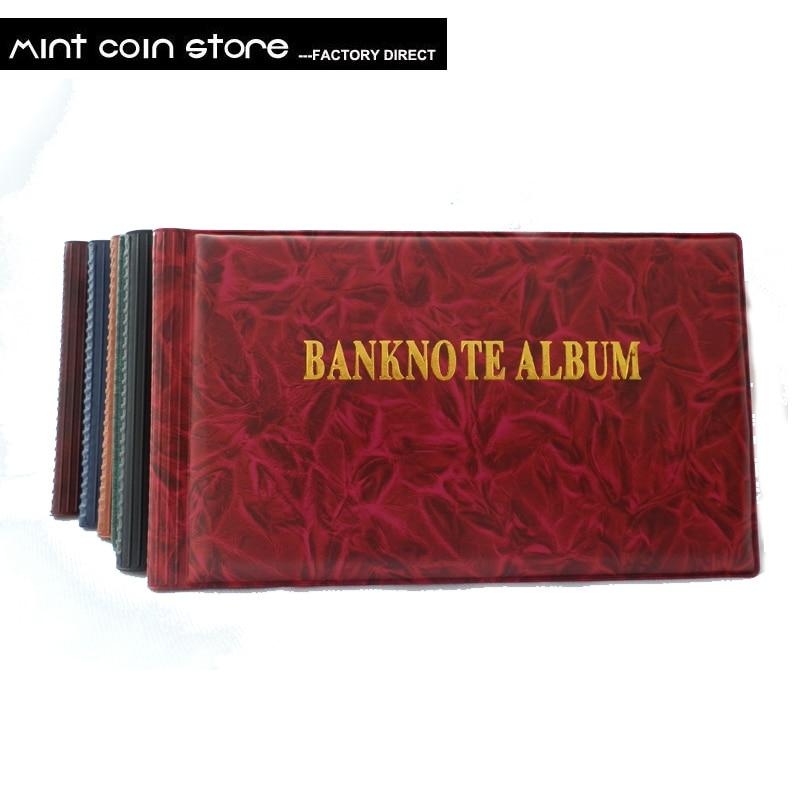 OEM альбом для банкнот с 40 отверстиями, защитный альбом для бумажных денег