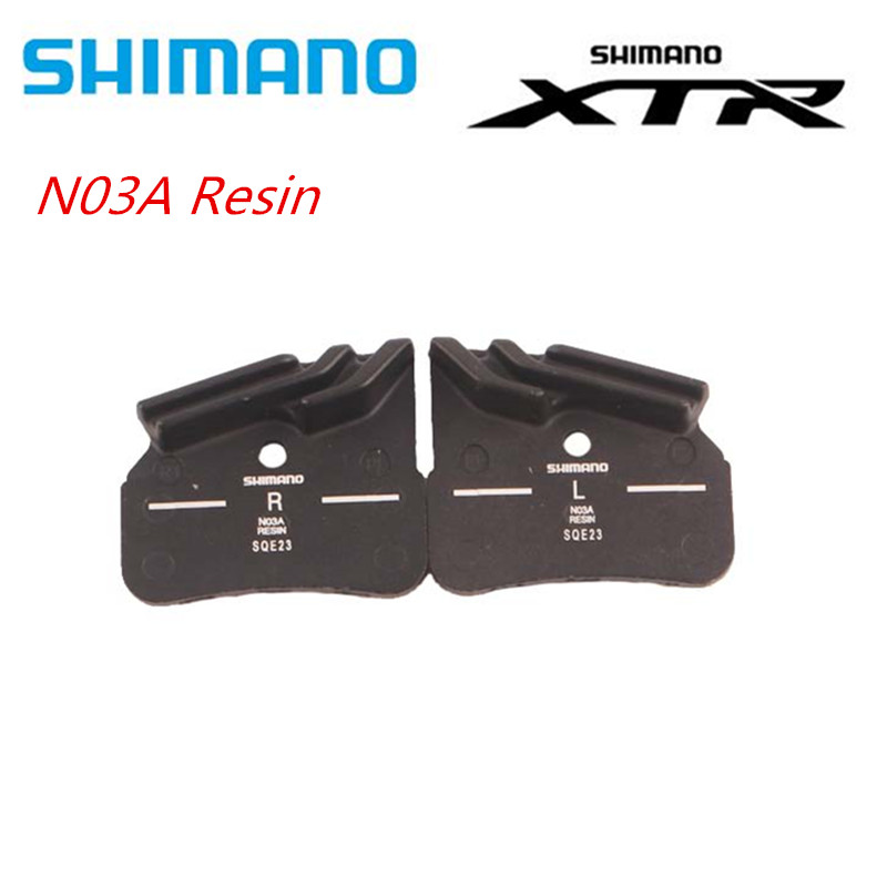 SHIMANO N03A Resin Pads DEORE XTR DEORE N03A Resin Cooling Fin Ice Tech <font><b>Brake</b></font> Pad For Mountain <font><b>M9120</b></font> image