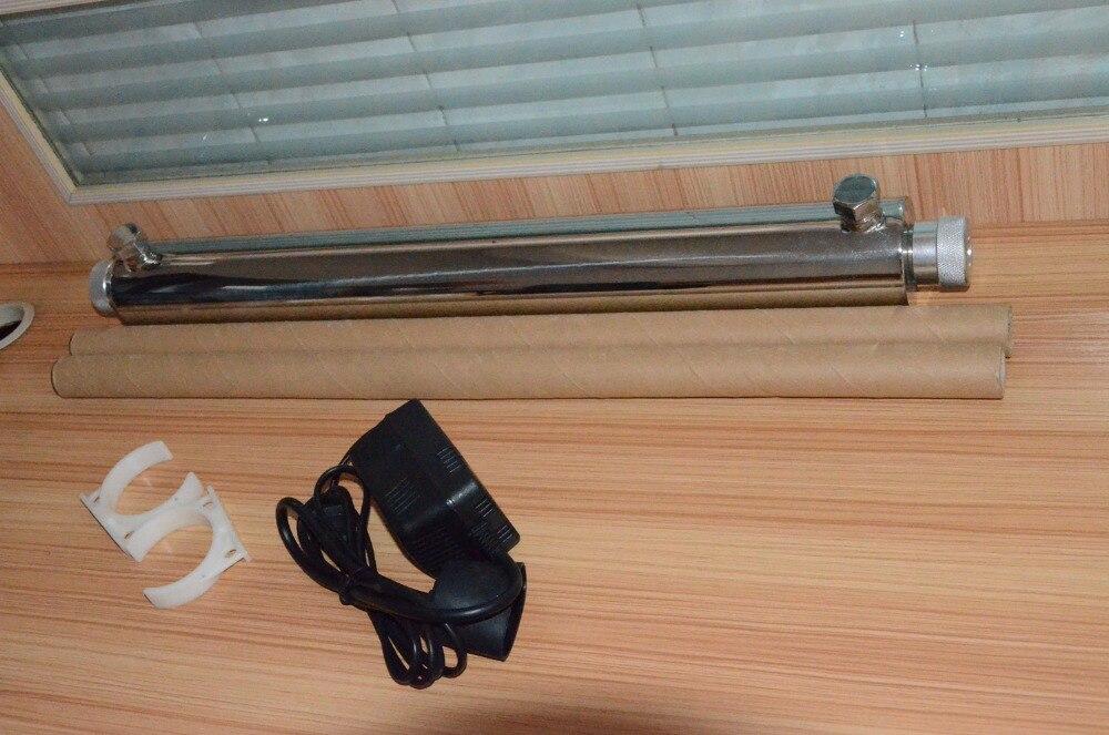 304 acier inoxydable 10GPM eau du robinet purificateur UV/RO stérilisateur/filtre à eau ultra violet/stérilisateur UVwater + Tube de lampe chinoise 35 W