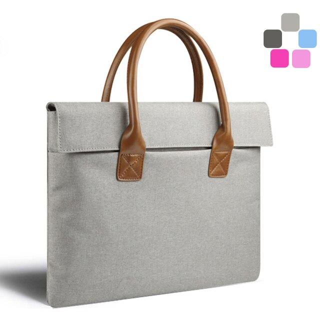 2017 High Quality Portable On Laptop Bag For Macbook Air Pro Men Women Handbag Surface