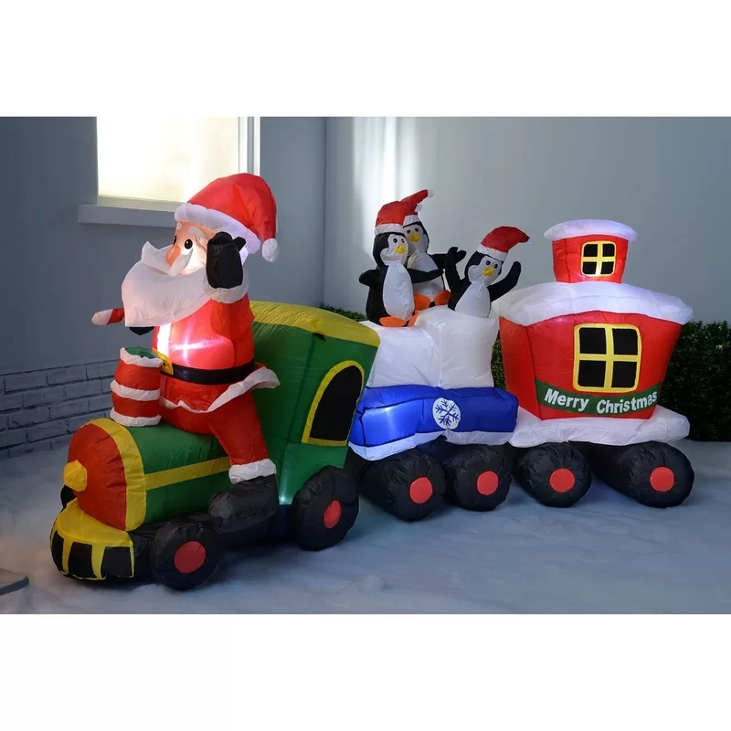 210cm+Pre-Lit+Santa+and+Penguins+Train+Inflatable+Christmas+Decoration+with+LED+Light+and+Fan.webp (1)