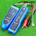 KELUSHI Сетевой Тестер Инструмент Сеть провода Кабельный Тестер Линии Tracker Телефон RJ11 RJ45 NF-806B быстрая доставка