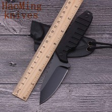 Camping Portable Tactical Fixed Knife & K Shield Hunting Rescue Battle Utility Knife Outdoor Diving EDC key chain Best Gift Tool