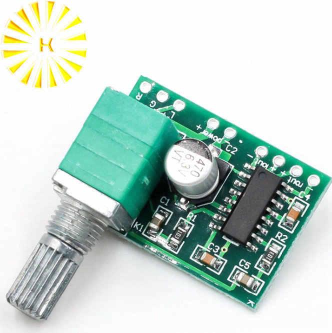 PAM8403 5 V כוח אודיו מגבר לוח 2 ערוץ 3 W W/USB כוח