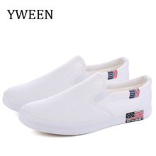 YWEEN Slip On Men Casual Shoes 2019 Spring Wholesale Fashion Mens Breathable Canvas Big Size for 35-47