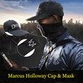 Relógio relógio legal cães 2 máscara adien pearce cães mascarar a máscara de jogo hero cosplay máscara preta cosplay