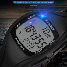 Relogio Masculino Digital Sports Watch Synoke Calorie Pedometer Chronograph Outd