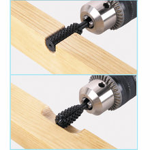 5pcs/set High Speed Steel Cutting Tool Black Burr Drill Bit Set Wood Carving Rasps For Dremel Shank Burs Tools(China)