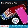 Высокое Качество Для iPhone6 plus 5.5 Дюймов Красочные Металлическая Задняя Крышка корпус Рама Замена Крышки для iphone 6 plus Золото Черный Красный