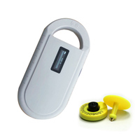 ISO11784/5 FDX B pet ID simple reader pet tracking microchip reader / pet track microchip scanner