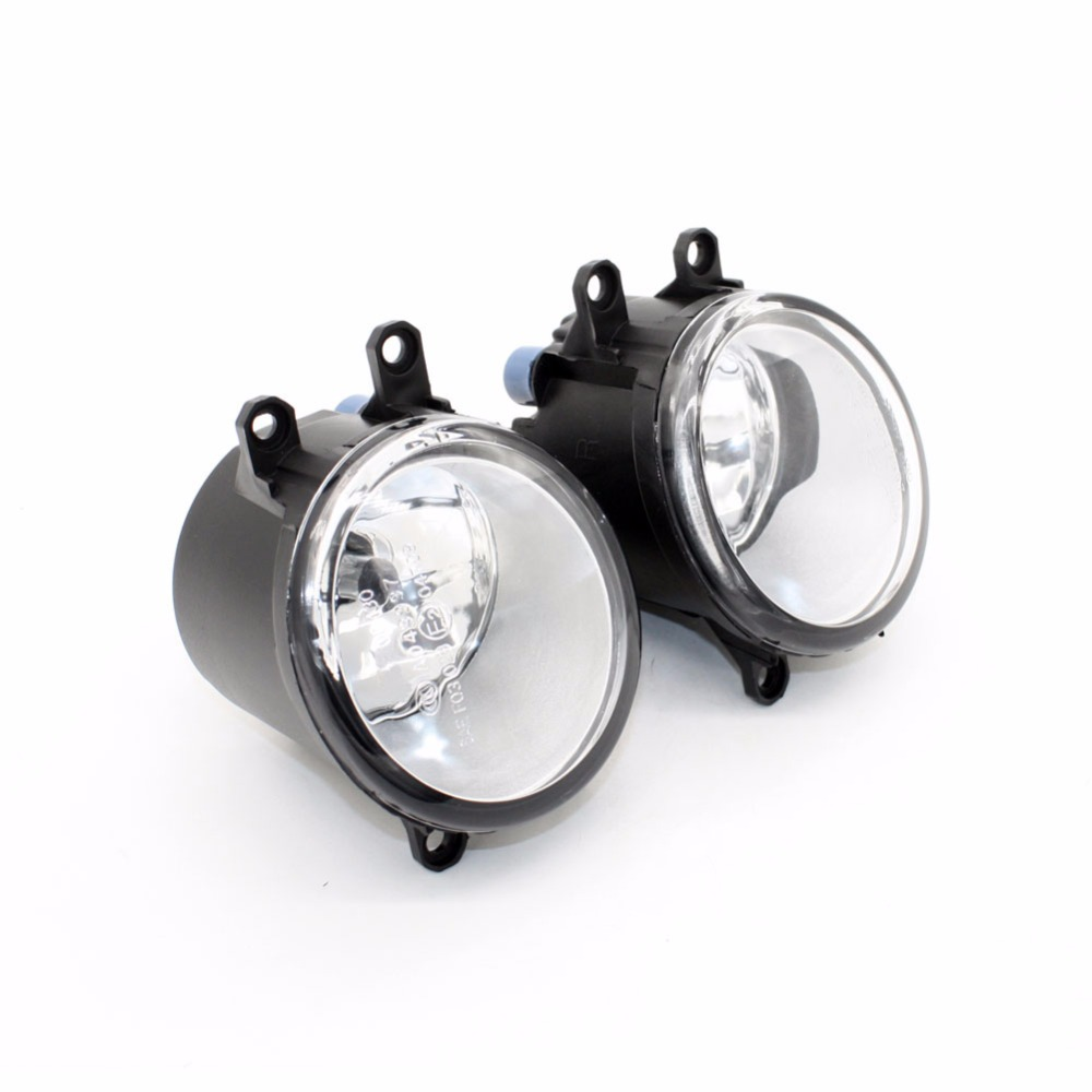 Front Fog Lights for Toyota Corolla Verso ( ZER_ZZE_R1-) 2007-2009 12V 55W Auto Lamp bumper Car H11 Halogen Light Bulb Assembly for opel astra h gtc 2005 15 h11 wiring harness sockets wire connector switch 2 fog lights drl front bumper 5d lens led lamp