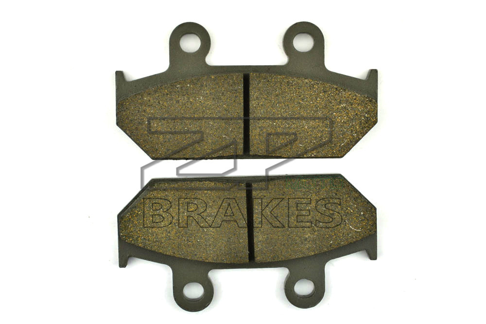 New Brake Pads Organic For Front HONDA VT 600 C Shadow 1988-1992 VLX 600 Shadow/Deluxe 1988 Motorcycle BRAKING Free Shipping metal 19cm motorcycle saddle bag support bar mount brackets for honda shadow aero vt vlx