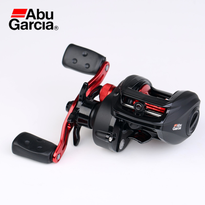 Abu Garcia BMAX3 Black Max3 4+1BB 6.4:1 Left Right Hand Bait Casting Reel Water Drop Wheel pesca Fishing Reel Max Drag 8KG/18LB 12 1bb 6 3 1 left right hand casting fishing reel cnc fishing reels carp bait baitcasting carretilha de pesca molinete shimano