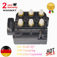 Compresor de suspensión neumática AP01  bloque de válvula solenoide para Audi Q7  Porsche Cayenne VW Touareg 7L0 698 014  7L0698014  7P0698014