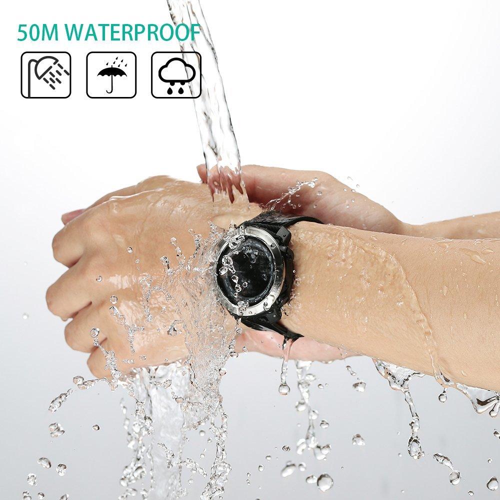 SKMEI Смарт часы спортивные HeartRate калории Удаленная камера Smartwatch Relogio Masculino Erkek Kol Saati водонепроницаемые наручные часы для мужчин - 5