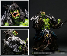 16cm WOW Movie Game Toy action figure Orc Shaman Rehgar Earthfury pvc figure toy collection model toy S008