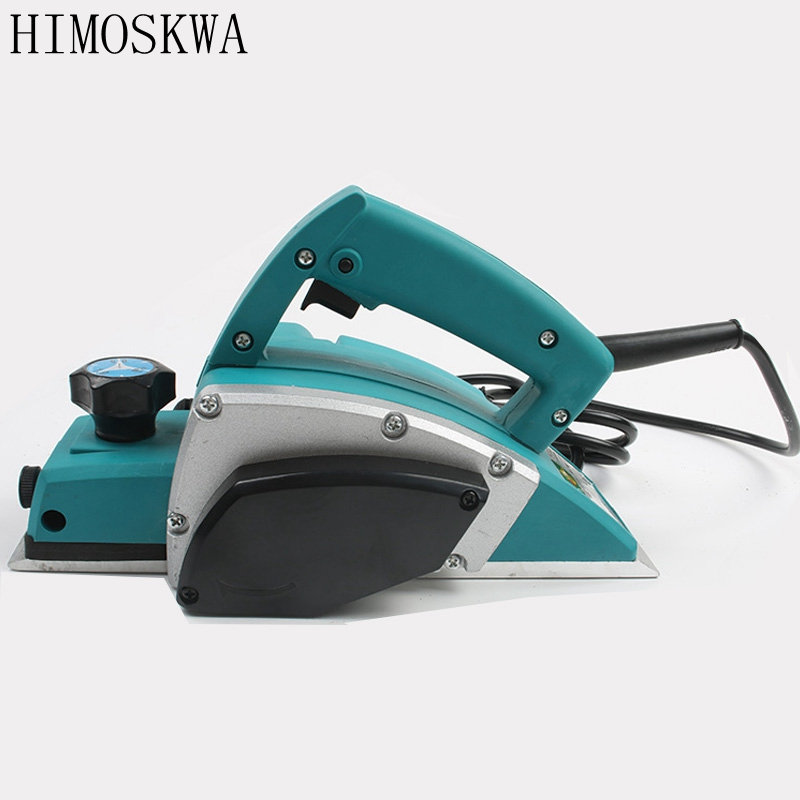 HIMOSKWA High quality Multifunctional woodworking tool electric tool Carpenters hand-held planer free shipping domestic woodworking high power electric tool portable electric planer