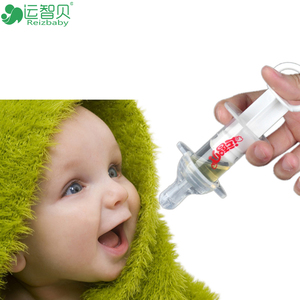 Brand safe silicone newborn baby products pacifier care kids solid feeding medicine dropper utensils flatware Device for baby