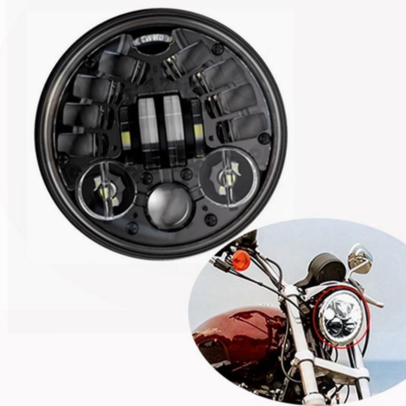 5-3/4 5.75 pouce Moto Daymaker LED Projecteur Halo Phare pour Harley Davidson Projecteur Spotlight Entraînement De La Lumière
