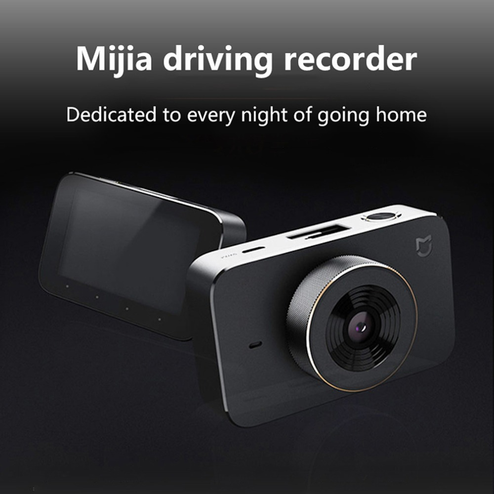 Xiaomi Mijia Caméscope De Voiture Enregistreur F1.8 1080 p 160 Degrés Grand Angle 3 pouce Écran Voiture DVR Dashcam Tableau de Bord Caméra universel