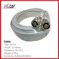 Nueva Llegada!! de Calidad superior, ATNJ 3D-FB 10 m N Macho/N Macho Cable Coaxial
