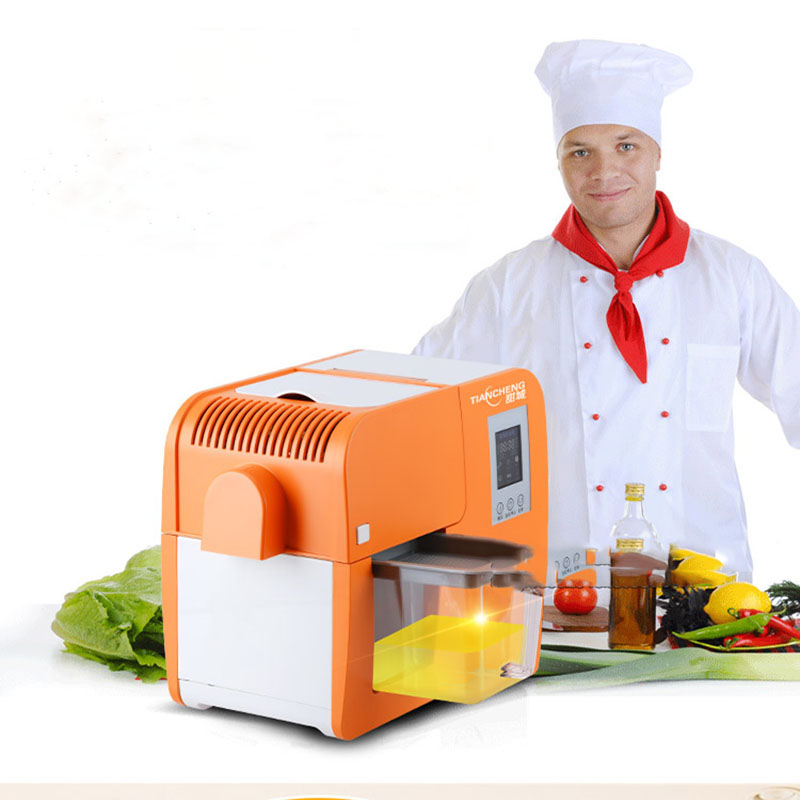 small family electric Intelligent automatic commercial hot and cold home pressing peanut oil press machine