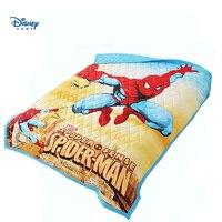 Классный Человек-паук, стеганое одеяло, для маленького мальчика, Комплект постельного белья 3d Мстители печати покрывало из хлопка одеяло