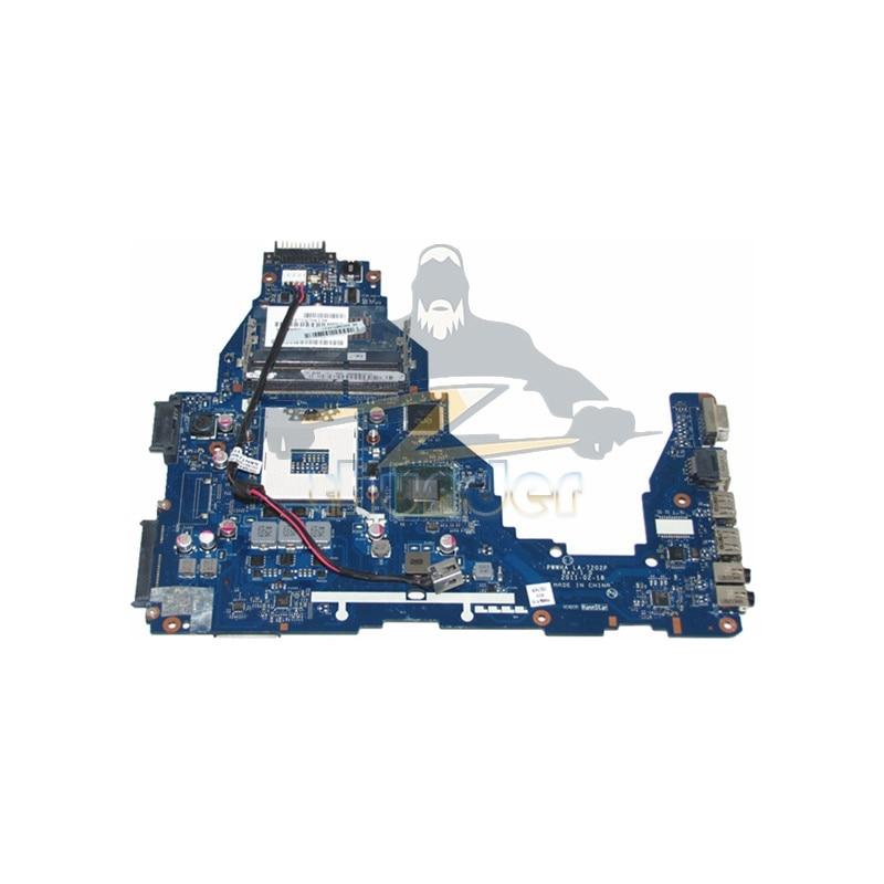 K000124370 LA-7202P for toshiba satellite C660 laptop motherboard HM65 GMA HD3000 DDR3 t000025060 main board for toshiba satellite dx730 dx735 laptop motherboard system board hm65 hd3000 ddr3