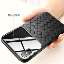 Fashion Anti-falling breathable Glass Case For iPho