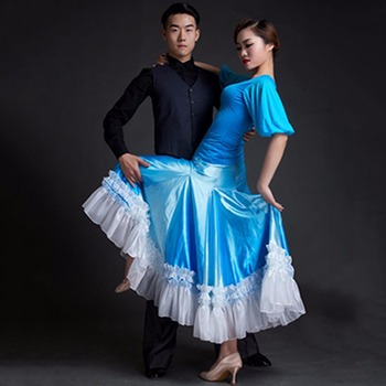 Hot 2017Nice Lady Ballroom Dancing Skirt Varies Of Size Special  Glossary Suitable For Roupas Femininas Femininity Dress Fashion