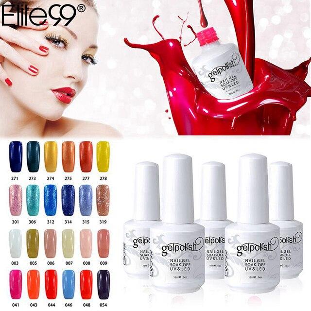 Elite99 Profeesional UV Gel Nagel Maniküre Nail art Dekorationen Gute Qualität Tränken Weg Vom UV LED Gel Nagellack Wählen 1 von 298