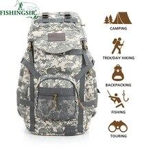 Im freien Rucksack 60L Wasserdichte Daypack Taktische Militärische Rucksäcke für Radfahren Camping Reisen Jagd Angeltasche Angelgerät