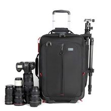 LeTrend photography Rolling Luggage Spinner Digital shoulder Suitcase Wheel SLR camera Cabin Trolley High capacity Travel Bag(China)