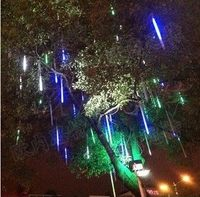 Comparar Luces de meteoros Led 3528 78 leds 80cm 2 w unids conjunto de tubos de lluvia