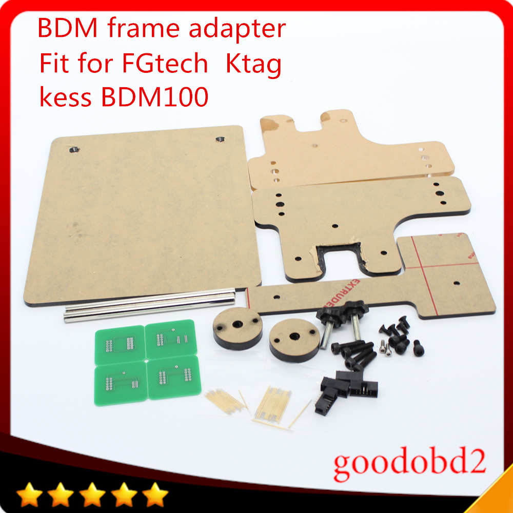 BDM frame With full Aapters Works BDM Programmer CMD100 Full Sets Fits For FGtech KESS bdm100