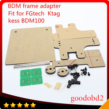цена на BDM frame With full Aapters Works BDM Programmer/CMD100 Full Sets Fits For FGtech KESS  bdm100 use for ktag k-tag ECU  tool A