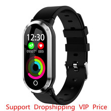 T1 Smart Wristband Woman Heart Rate Blood Pressure Monitor Fitness Bracelet tracker Pedometer Band for IOS Android PK mi 3 4