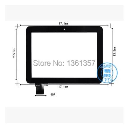 8 polegada adora mini7 ICOU 7 w multiponto tela de toque capacitivo lt70352a0 preto frete grátis
