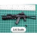2016 Novo Para 1:6 Escala de 1/6 12 polegada Figuras de Ação AK74 assault rifle frete grátis 1/100 mg bandai gundam modelo pode usar 000441