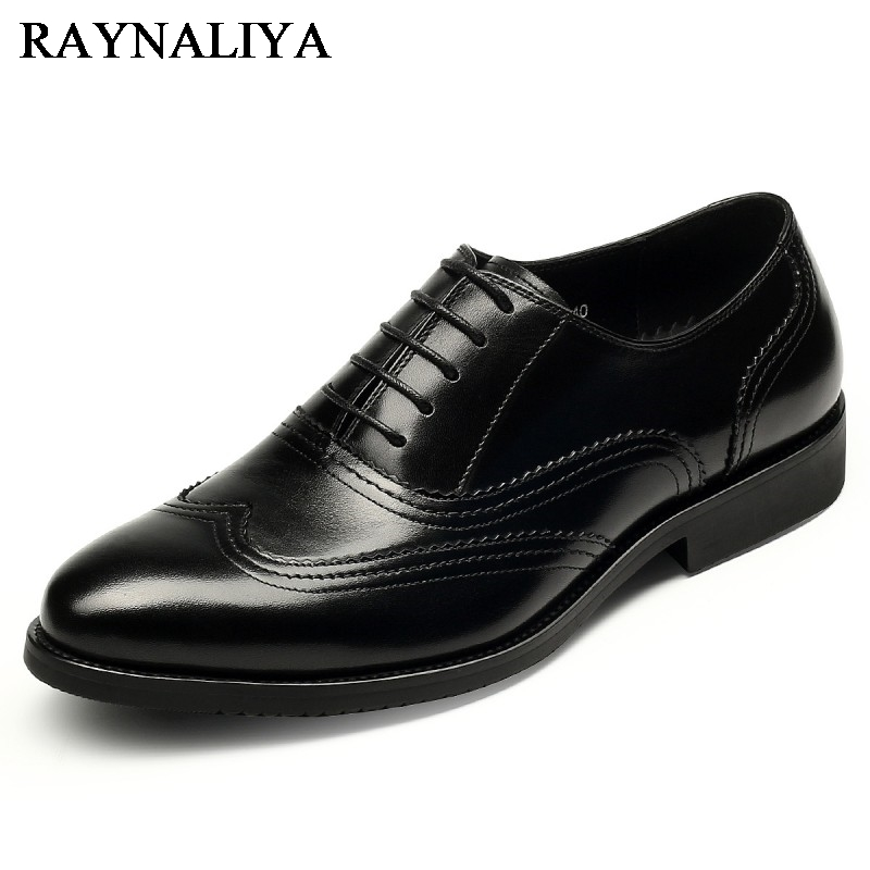New Design Fashion Genuine Leather Men Casual Shoes Lace Up Luxury Black Oxford Shoes Men Formal Flats Shoes YJ-A0019 lovexss casual oxford shoes fashion metal decoration shallow shoes black purple genuine leather flats woman casual oxford shoes
