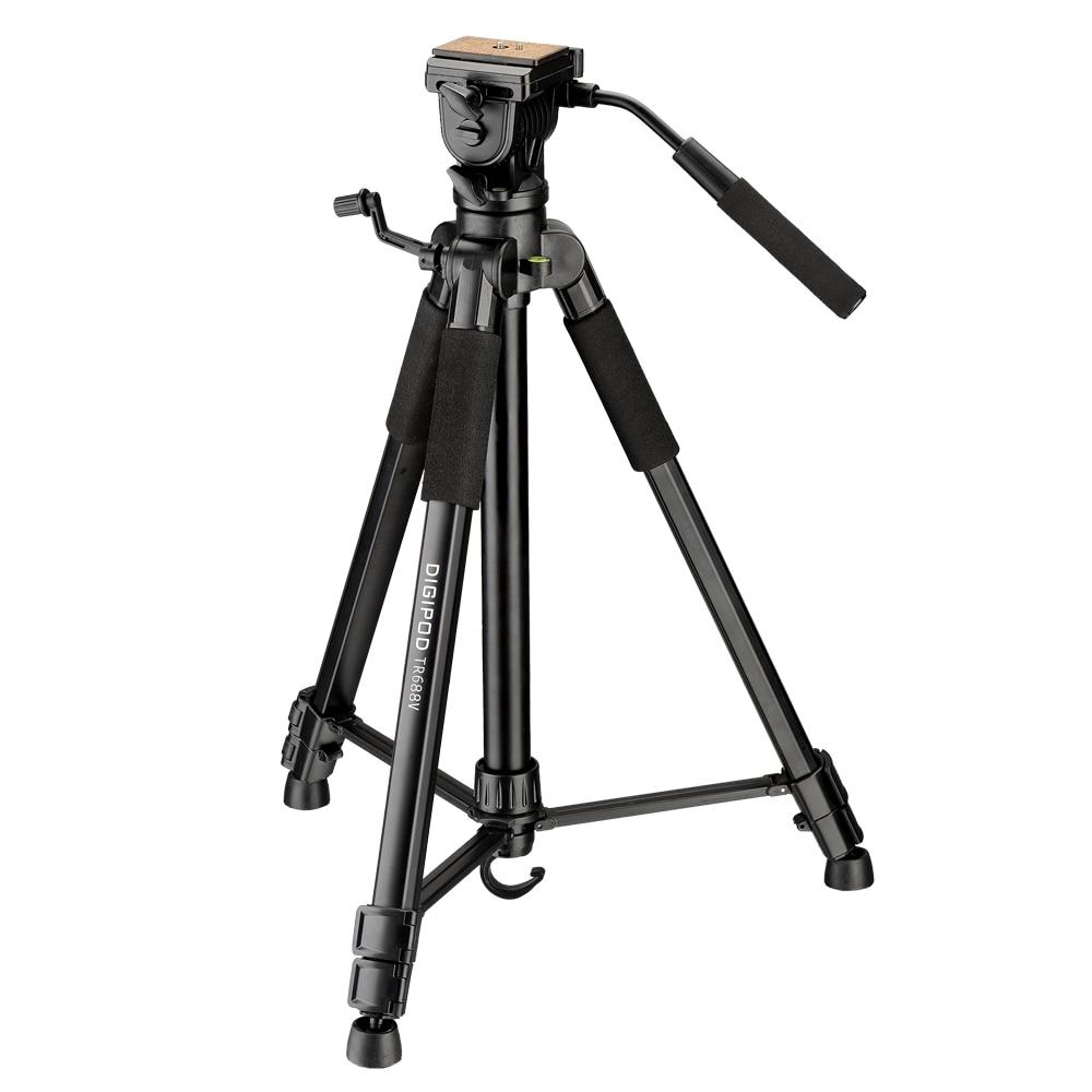 Kits de trépied vidéo DIGIPOD 67 pouces pour caméscope TR-688V