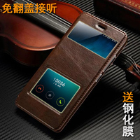 For Xiaomi Red Rice Redmi Note 2 Note2 Flip Leather Phone Cover Case Free Shipping 6