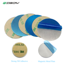 3M Metal Plate Disk Iron Sheet For Magnet Mobile Cell Phone Holder For Magnetic disk iron In Car Air Vent Mount Smartphone Stand цены