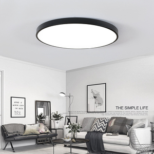 Image 5 - QLTEG رقيقة جدا سقف ليد حديث ضوء زينة للسقف تركيبات غرفة نوم مصباح سقفي لغرفة المعيشة 5 سنتيمتر عالية