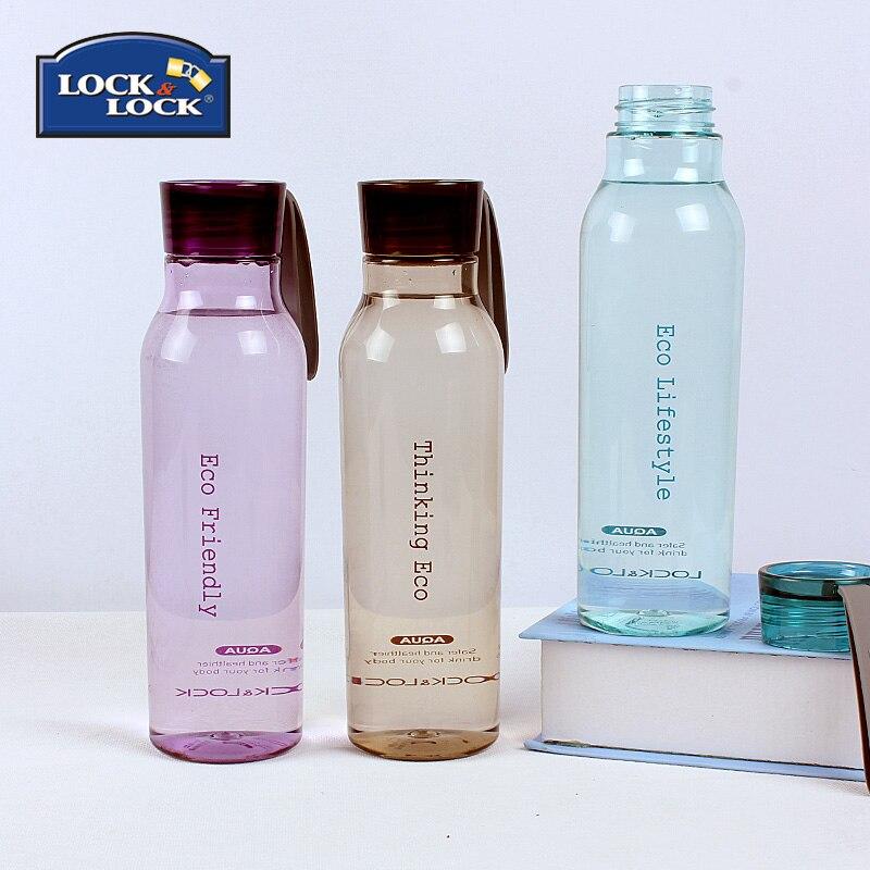 Tasses créatives en plastique sport cruche avec Portable en plein air verre bouteille d'eau en plastique verre